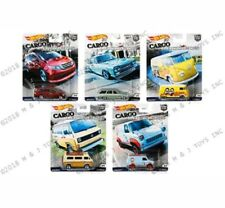 HOT WHEELS 1/64 2018 CAR CULTURE B SET OF 5 CARS CARGO CARRIERS PRE-SALE SEE PIC