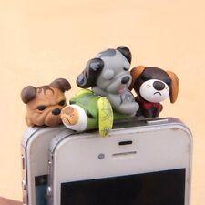 cute Tea Dog Anti Dust Earphone Cap Plug Stopper For iphone all style cellphone