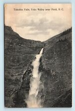 Field, BC, Canada - RARE EARLY 1900s TAKAKKA FALLS YOHO VALLEY POSTCARD - G4