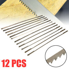 12Pcs Pinned Scroll Saw Blades Woodworking Power Tools Accessories 127mm Tool