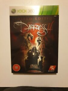 The Darkness II: Limited Edition (Xbox 360) Lenticular Cover. New FACTORY Sealed