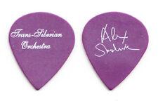 TSO Trans-Siberian Orchestra Alex Skolnick Purple Guitar Pick #2