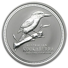 2003 Australia 1 oz Silver Kookaburra BU - SKU #10166