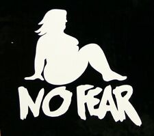"""NO FEAR -  2 1/2"""" Decal Sticker for Motorcycle Helmet"""