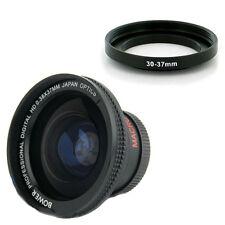 Bower 30mm 0,38x Weitwinkel fisheye-Objektiv für Sony HDR CX115 CX105 CX116 NEU