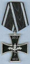 """Kreuz zur Erinnerung an die Stiftung  """" Eisernes Kreuz """" 1813 - 2013 - EK"""