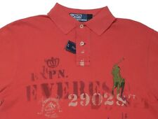 Men's RALPH LAUREN Red Everest BIG PONY POLO Shirt S Small Custom Fit NWT NEW