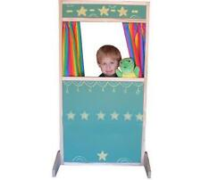 BEKA PRETEND PLAY STORE FRONT PUPPET THEATER THEATRE CHALKBOARD SURFACES NEW