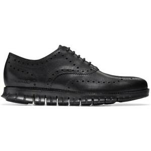Cole Haan Mens Zerogrand Brogue Leather Wing Tip Oxfords Shoes BHFO 4648