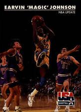 Magic Johnson #28 Skybox USA 1992 NBA Basketball Card