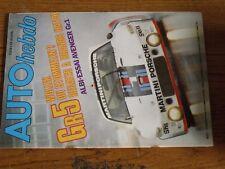 $$$ Revue Auto Hebdo N°82 Gr 5 Wollek StommelenAvenger Gr.1GP USACriterium