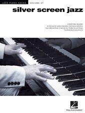 Silver Screen Jazz - Piano Solos Volume 37 Book *NEW*