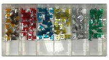 120 Piece ATLM Low Profile Mini Fuse Assortment Box Case Kit
