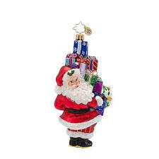 Christopher Radko - Shop Till You Drop - Santa & Gifts - Ornament 1016892