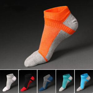 5 Pairs Mens five finger toe Socks Cotton Ankle Casual Sports Low Cut Breathe