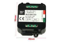 Dalcnet Easy Led Fader Dimmer Driver 12V 24V 10A Pulsante N.O. Push DLC1224-1CV