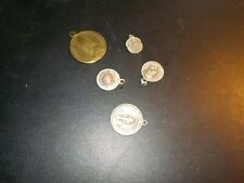 Mixed Lot Of 5 Religious Medals