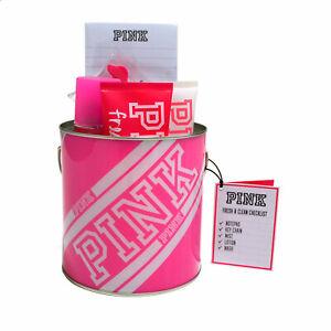 Victoria's Secret Pink Fresh & Clean Gift Set 5 Piece Lotion Wash Mist Checklist