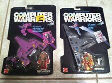 Mattel Computer Warriors Moc Debugg Megahert 1989