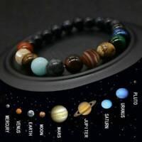 Solar System Bracelet. Healing Planet Stones. Galaxy bracelet. Planet bracelet