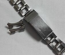 Zenith bracelet band steel gay freres clasp 4/70 for sub diver ref.A3630 ends ze