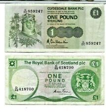 "2 Note For 1 Money! (Nice) ""Know Nothing About These"" 2 For 1 (Scotland)"