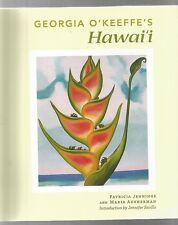 GEORGIA O'KEEFFE's HAWAI'I by Jennings & Ausherman 2011 Koa Books S/c COLOUR ART