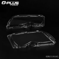 For BMW E46 3-series 4DR 02-05 Polycarbonate Headlight Glass Lens Lamp Cover