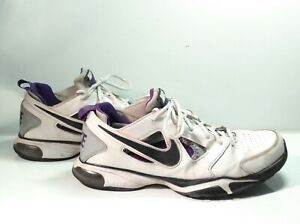 Nike Air Compete TR 2 Trainers 488006-105 Nike Air White Purple UK10 US11 EUR45