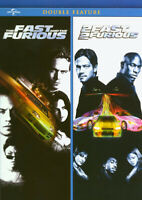 THE FAST AND THE FURIOUS / 2 FAST 2 FURIOUS (DOUBLE FEATURE) (DVD)
