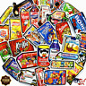 50 Food Snack Skateboard Stickers Car Luggage Decals Dope Sticker Christmas Gift