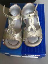 nus pieds sandales MOD8 pointure 19 argent