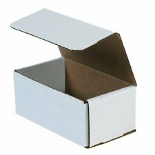 50-10x3x2 White Corrugated Carton Cardboard Packaging Shipping Mailing Box Boxes