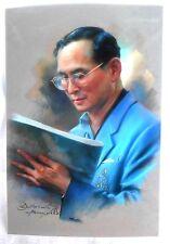 Bild picture König King Bhumibol Adulyadej RAMA IX Thailand 15x10 cm  (s17