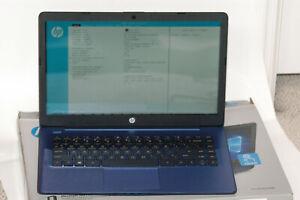HP Stream 14 inch (64GB, AMD A4 Dual-Core, 4GB) Notebook/Laptop - Royal Blue - 1