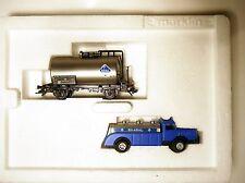 SET: DB Kesselwagen ARAL+ Büssing Tanker, Märklin Marklin #47903 1:87 H0 boxed!