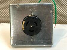 Legrand-Pass & Seymour Pass & Seymour CS8369  Receptacle, 4-Wire 3PH 3P 50A 250V