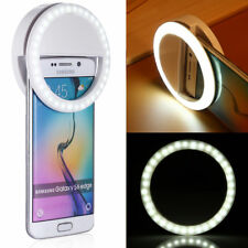 Portable Selfie LED Light Ring Fill Camera Flash For Mobile Phone Universal iPad