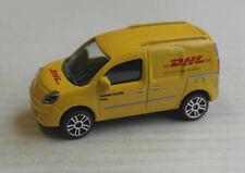 Majorette Renault Kangoo Express gelb Deutsche Post DHL Transporter Auto Car