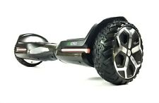"""Black Carbon G1 Knight PRO 6.5"""" Off Road Hoverboard Segway Alloy Rim"""