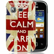 HardCase Schutzhülle für Samsung S5300 Galaxy Pocket Keep calm and carry on