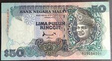 Rm 50 Ahmad Don AQ 9256501 TDLR 1995 vf