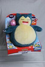 Pokemon 10in Snooze Action Snorlax Normal Sleeping Pokemon 143 Plush Soft Toy