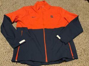 Syracuse Orange Nike Jacket Orange/Navy Men's Size: Large NWOT