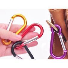 20pcs Carabiner Clip Snap Spring Clasp Hook Keyring Camping Carabina Karabiner
