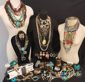 NWT New Mixed Random Jewellery Pack Bulk Pieces Earrings Necklace Bracelet Ring