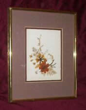 Dried Flowers Framed Nicely Very Unique
