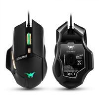 CW90 3800 DPI LED Breath Light Combaterwing Kabelgebunden Gaming Mouse Maus Mice