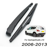 "12"" Rear Windscreen Wiper Arm Blade Set Kit For Nissan Dualis J10 2006-2013"