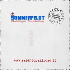 SOMMERFELDT 205 isolatori per catenaria (24pz) stile FS